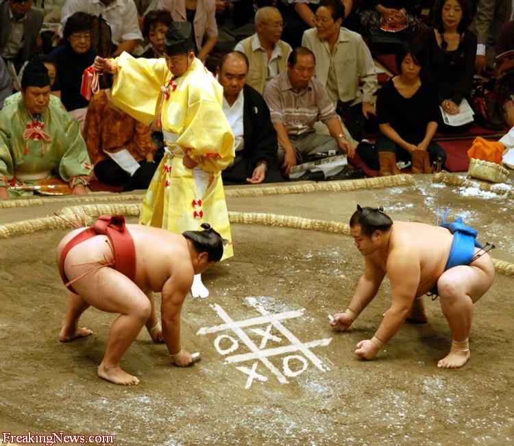 Sumo-Wrestlers